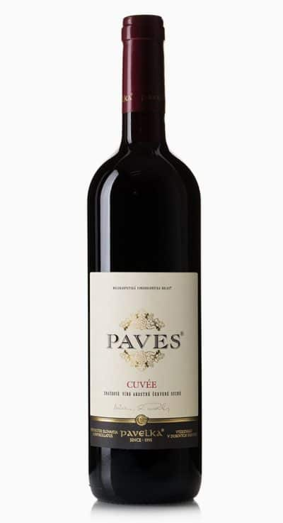 Cuvee paves znackove odrodove vino cervene