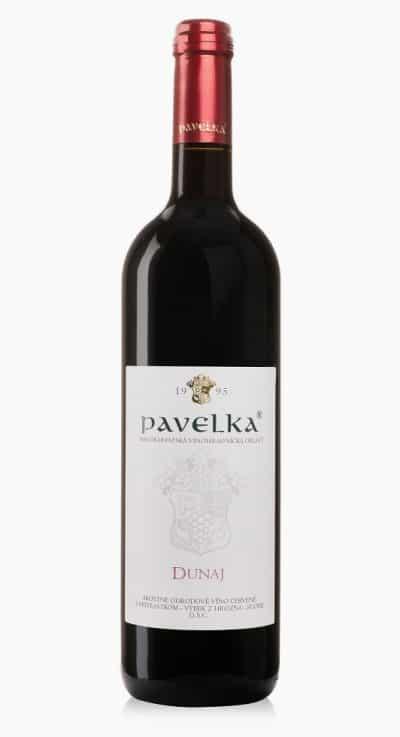 Dunaj akostne odrodove vino cervene pavelka
