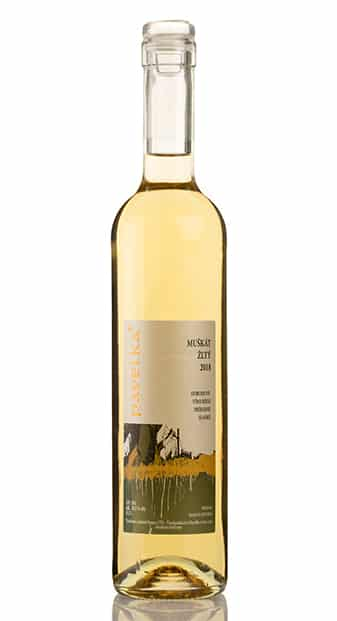 muskat zlty biele vino sladke pavelka