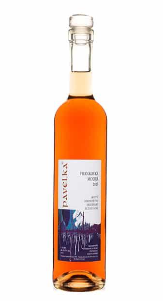 frankovka modra rose sladka od pavelka vino