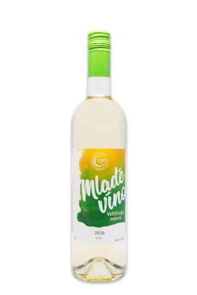 veltlinske zelene mlade vino pavelka